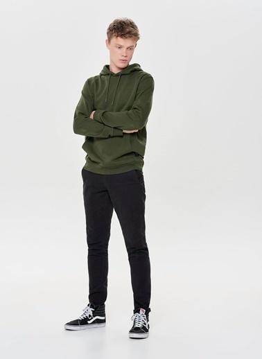 Only & Sons Sweatshirt Haki